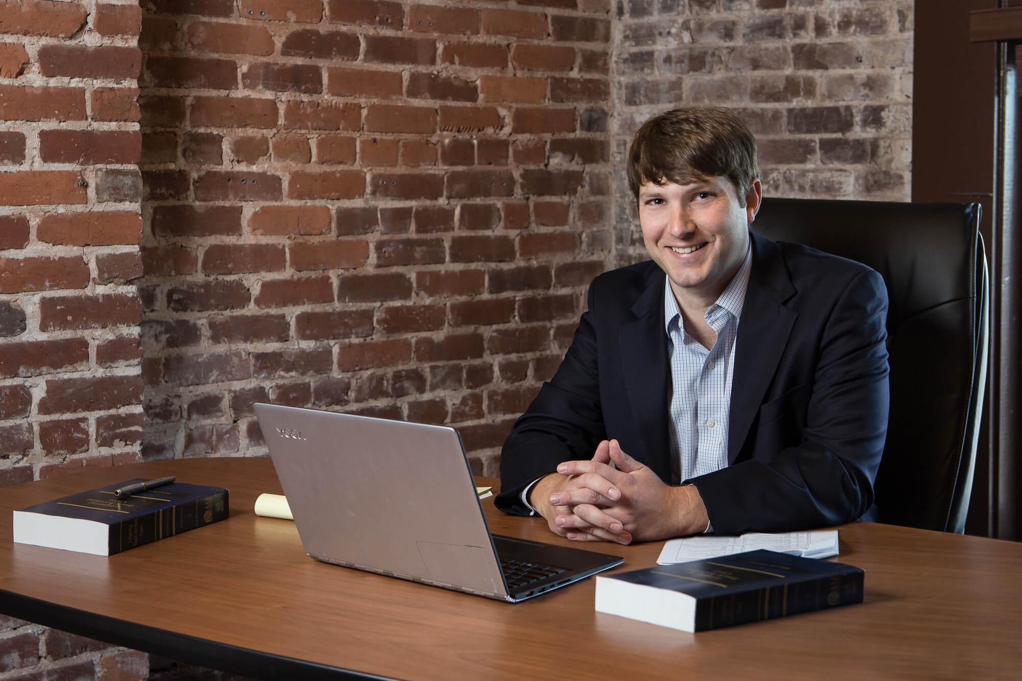 on location business portrait